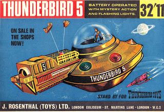 Thunderbird toy box design by my Grandfather Jack Rosenthal